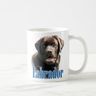 Labrador Retriever (chocolate) Name Coffee Mug