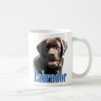 Labrador Retriever (chocolate) Name Coffee Mug