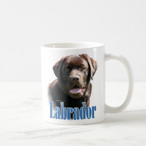 Labrador Retriever (chocolate) Name Classic White Coffee Mug