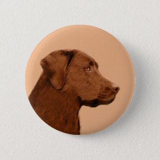 Labrador Retriever (Chocolate) Pinback Button