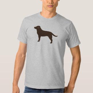 Labrador retriever (chocolate) remeras