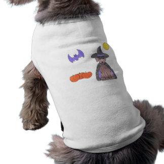 Labrador Retriever Chocolate Witch Dog T-Shirt