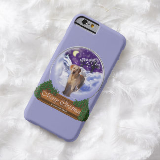 Labrador Retriever Christmas Barely There iPhone 6 Case