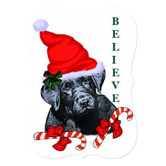Labrador Retriever Christmas Card