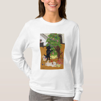 Labrador Retriever Christmas Tree T-Shirt