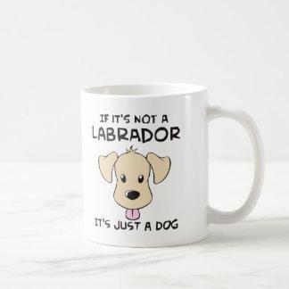 Labrador Retriever Classic White Coffee Mug