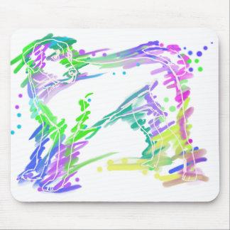 Labrador Retriever colorful pop dog art Mouse Pad