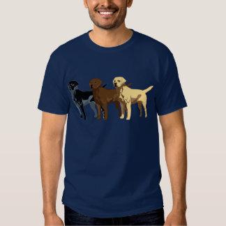 Labrador Retriever colors T Shirt