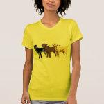 Labrador Retriever colors Tee Shirt