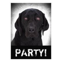 Labrador Retriever Custom Invites