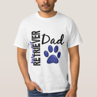 Labrador Retriever Dad 2 T-Shirt