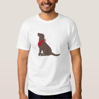 Labrador retriever del chocolate polera