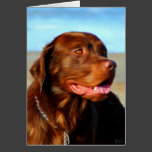 Labrador Retriever Dog Art - Bosco Cards