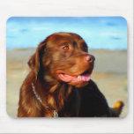 Labrador Retriever Dog Art - Bosco Mousepad