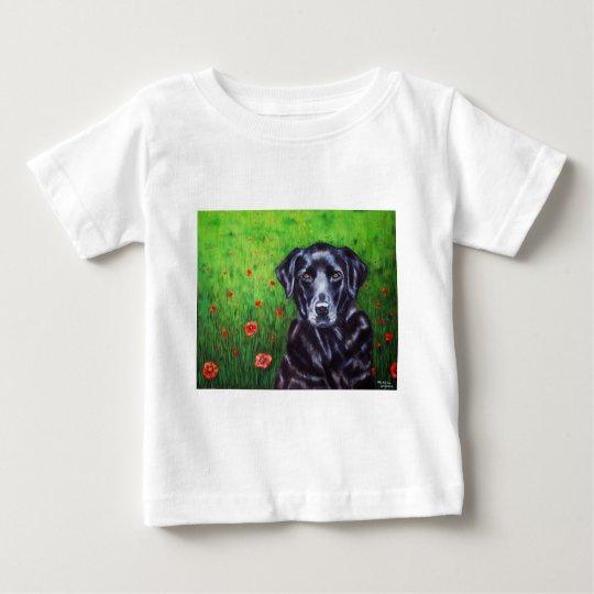 Labrador Retriever Dog Art - Poppy Baby T-Shirt