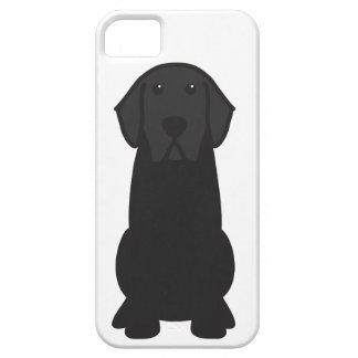 Labrador Retriever Dog Cartoon iPhone 5 Case