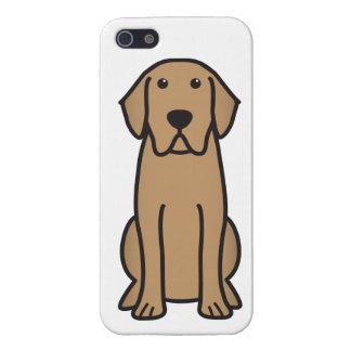Labrador Retriever Dog Cartoon Cover For iPhone SE/5/5s