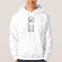 Labrador Retriever Dog Cartoon Hoodie