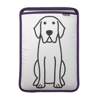 Labrador Retriever Dog Cartoon Sleeve For MacBook Air
