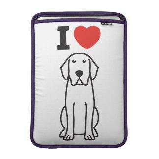 Labrador Retriever Dog Cartoon MacBook Air Sleeve