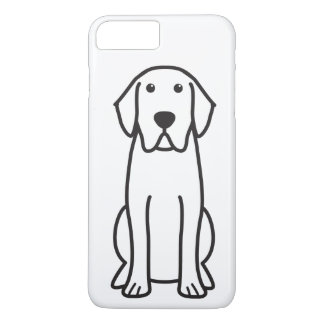 Labrador Retriever Dog Cartoon iPhone 8 Plus/7 Plus Case