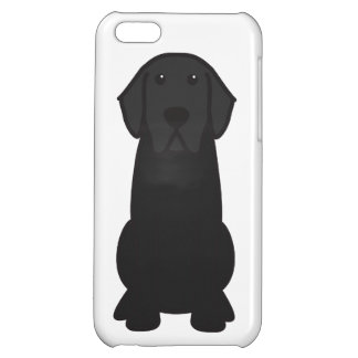 Labrador Retriever Dog Cartoon iPhone 5C Cover