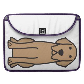Labrador Retriever Dog Cartoon Sleeve For MacBooks