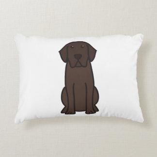 Labrador Retriever Dog Cartoon Pillow