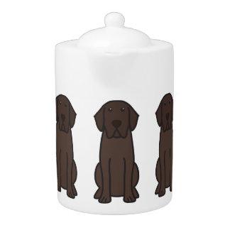 Labrador Retriever Dog Cartoon Teapot