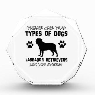 Labrador retriever dog Designs Award