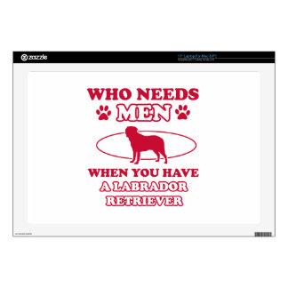 LABRADOR RETRIEVER DOG DESIGNS DECAL FOR LAPTOP