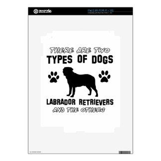 Labrador retriever dog Designs Decals For iPad 2