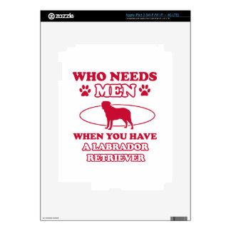LABRADOR RETRIEVER DOG DESIGNS iPad 3 DECAL