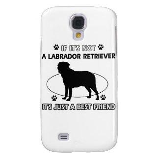 LABRADOR RETRIEVER dog designs Samsung Galaxy S4 Case