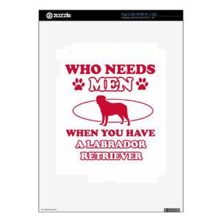LABRADOR RETRIEVER DOG DESIGNS SKINS FOR THE iPad 2