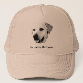 Labrador Retriever Dog Engraving Trucker Hat
