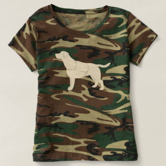 Labrador Retriever Dog in Service Tshirt