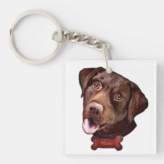 Labrador retriever dog Keychains