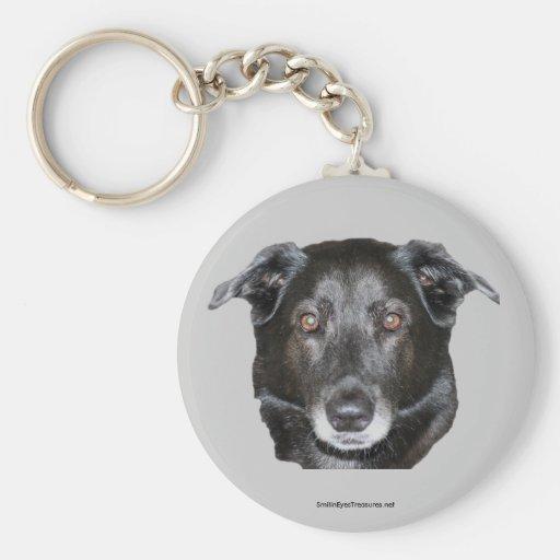 Labrador Retriever Dog Lover Photo Keychain