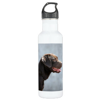 Labrador Retriever Dog 24oz Water Bottle