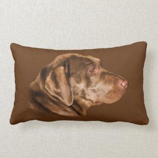 Labrador Retriever Dog, Pillow, Customizable Lumbar Pillow