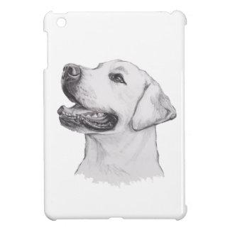 Labrador Retriever Dog Portrait Drawing iPad Mini Covers
