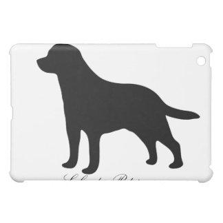 Labrador Retriever dog silhouette ipad case, gift iPad Mini Cover