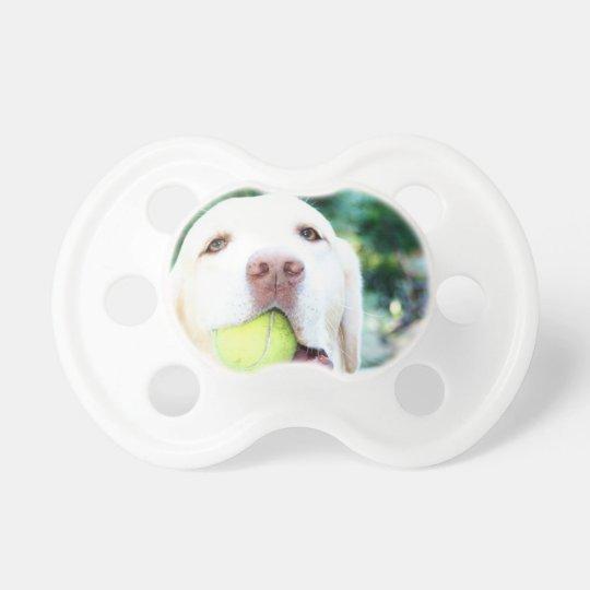 Labrador Retriever Dog Tennis Ball Pacifier