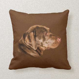 Labrador Retriever Dog, Throw Pillow, Customizable Throw Pillow