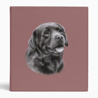 Labrador Retriever Drawing Binder