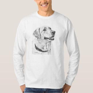 Labrador Retriever Drawing T-Shirt