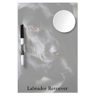 Labrador Retriever Dry Erase Board with Mirror