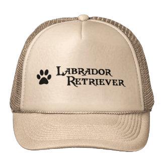Labrador retriever (estilo del pirata con el pawpr gorras de camionero