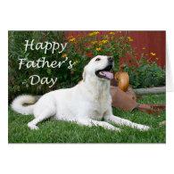 Labrador Retriever Father's Day card